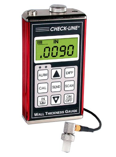 Checkline TI-007 Precision Ultrasonic Thickness Gauge