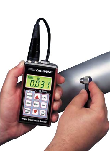 Checkline TI-25DL Data Logging Ultrasonic Thickness Gauge