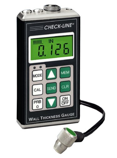 Checkline TI-25DL-MMX Data Logging Through Paint Ultrasonic Thickness