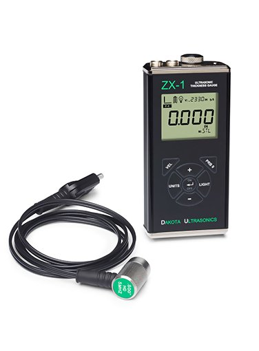 Dakota Ultrasonic ZX-1 Ultrasonic-Wall-Thickness-Gauge