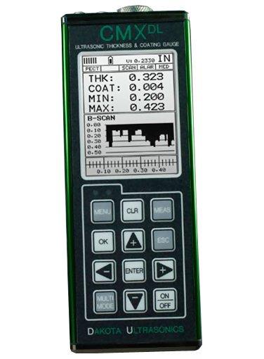 Dakota Ultrasonics CMXDL Data-Logging Ultrasonic Coating & Wall Thickness Gauge