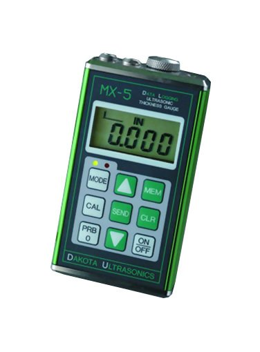 Dakota Ultrasonics MX-5DL Data-Logging Ultrasonic  Thickness Gauge