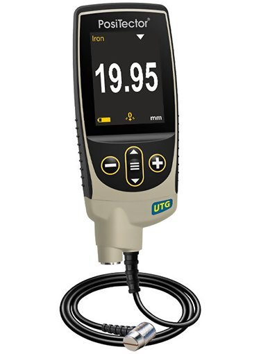 DeFelsko UTGCLF1-G PosiTector UTG CLF1 Standard Ultrasonic Thickness Gage with Low Frequency Probe