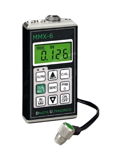 MMX-6 Through Paint Ultrasonic Wall Thickness Gauge
