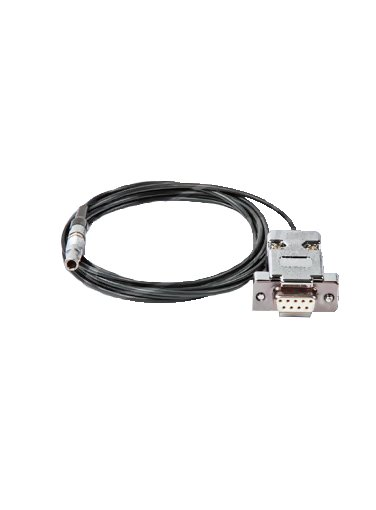 N-306-0010 6 foot RS232 Cable (DB-9 to Lemo 2 pin)