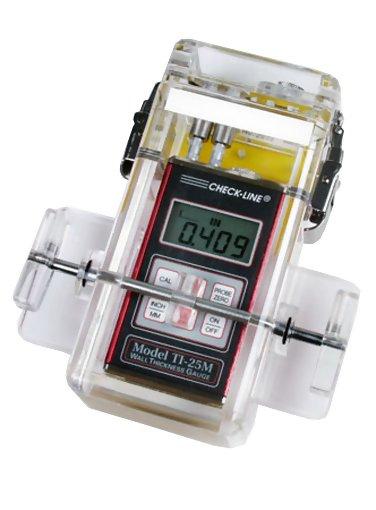 TI-25M-UWM Underwater Ultrasonic Wall Thickness Gauge, Range 0.050 - 19.99 in / 1.27 - 508.0 mm
