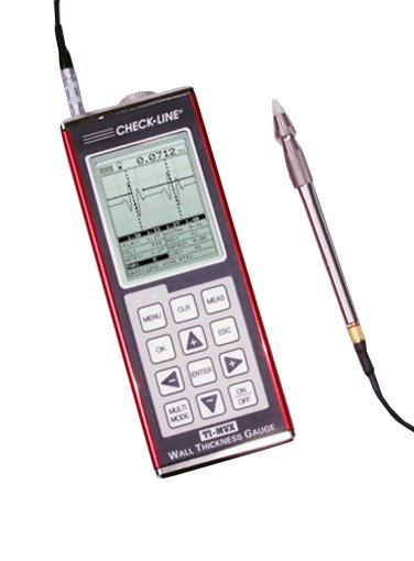 TI-PVX Precision Ultrasonic A-scan Thickness Gauge